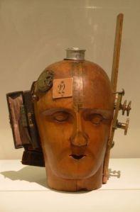 Cabeza mecanica,1919 Raoul Hausmann